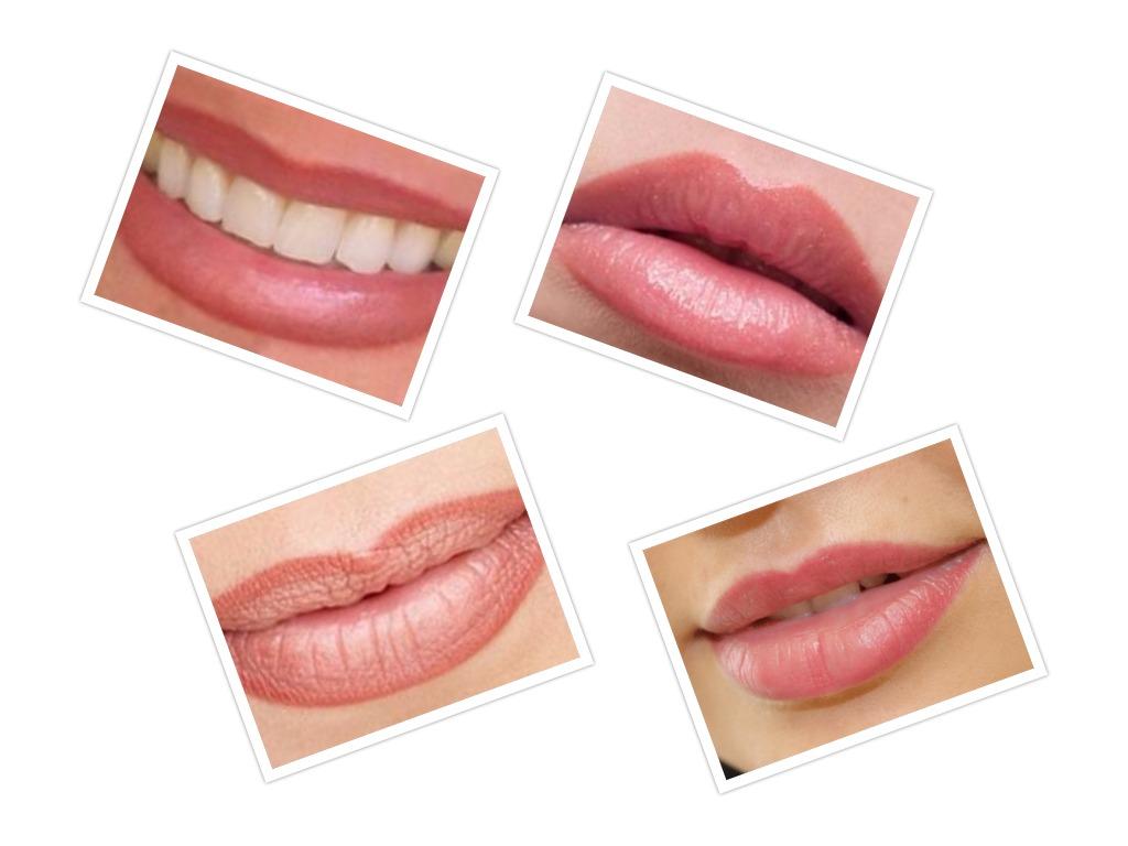 Перманентный макияж губ - разные виды
