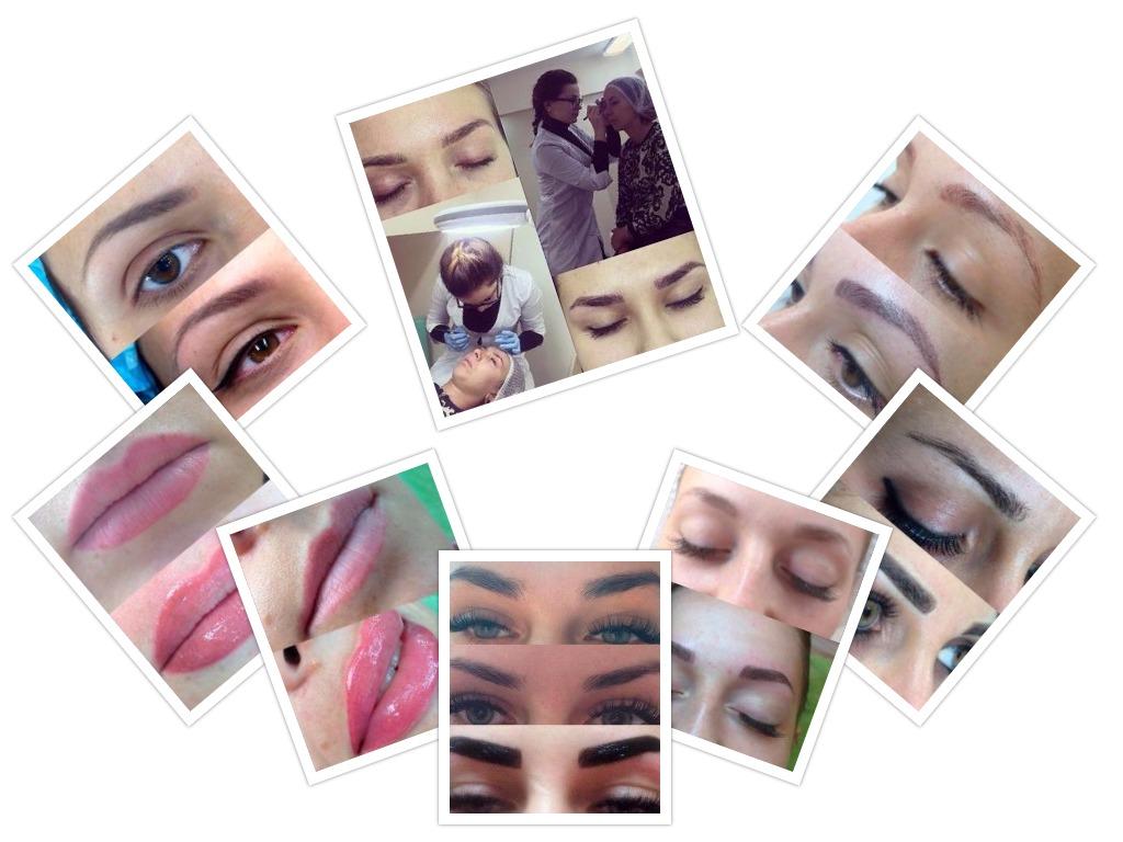 Работы мастера перманентного макияжа Анны Корж
